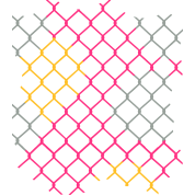 Chain fence png. Colorful link women s