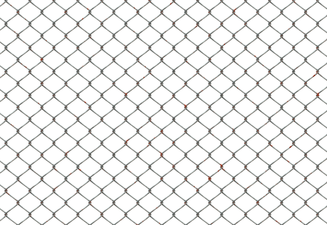 Chain fence png. Grillage image