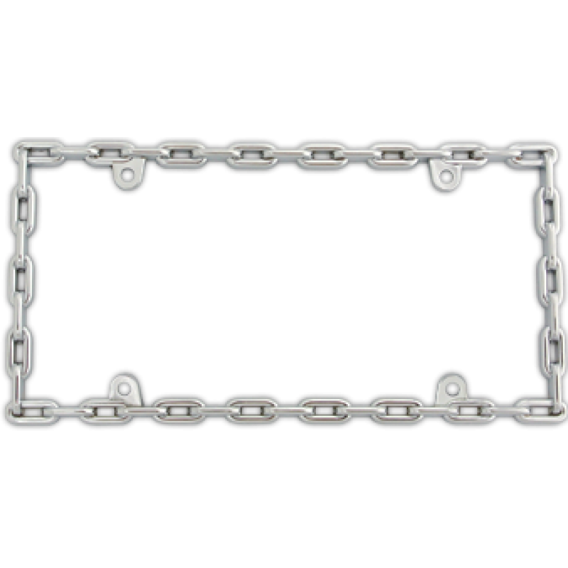 Chain frame png. Link chrome frames from