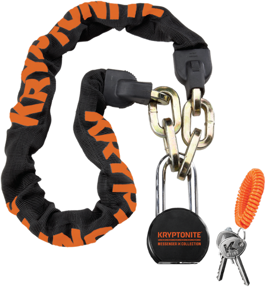 Kryptonite with moly padlock. Chain lock png vector black and white library