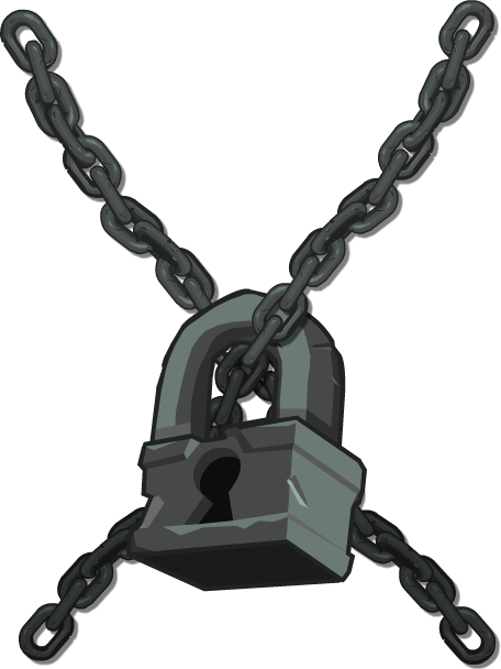 Image zombidle wikia fandom. Chain lock png svg transparent download