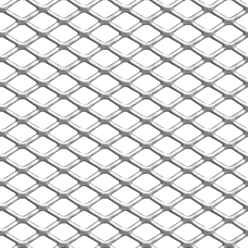 Netting vector seamless hexagon pattern. Metal texture pictures and