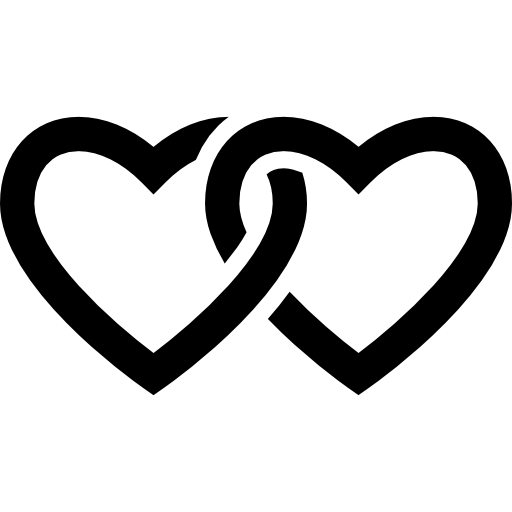 Chained heart png. Outline icons free download