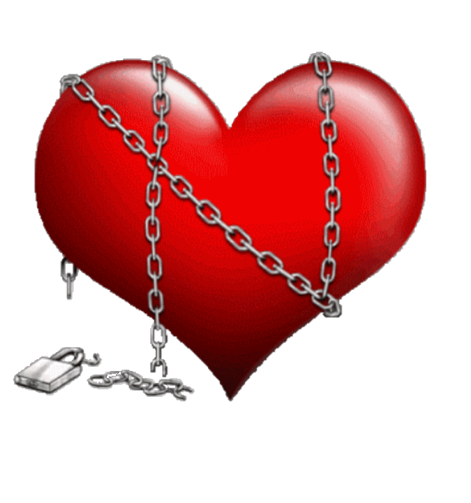 Chained heart png. Sticker by brandy birdsong