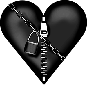 Chained heart png. A that is and