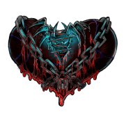 Chained heart png. Nightmare women s organic