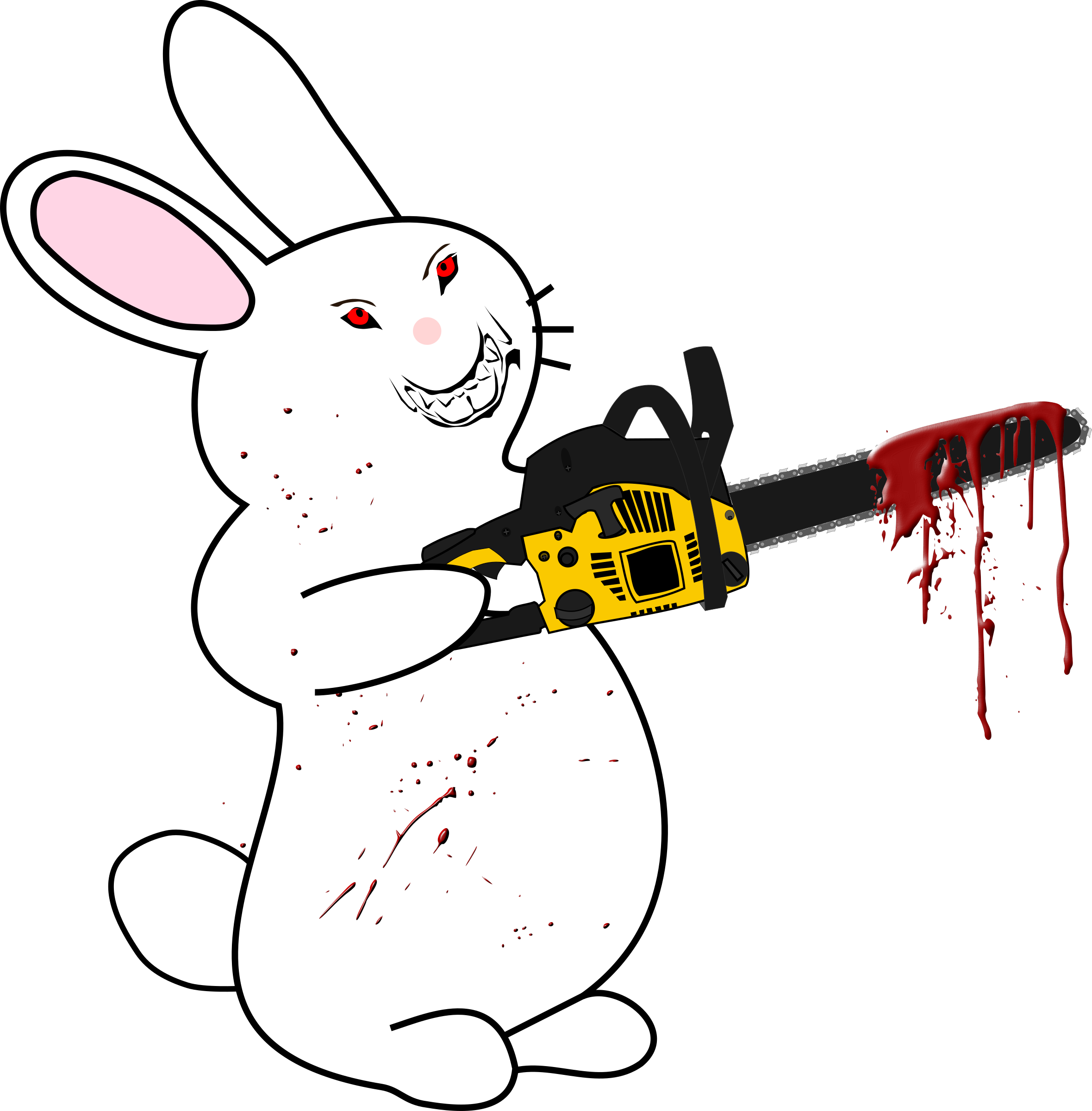 Angry clipart rabbit. Clip art library