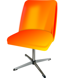 Chair clip animated. Swivel art at clker