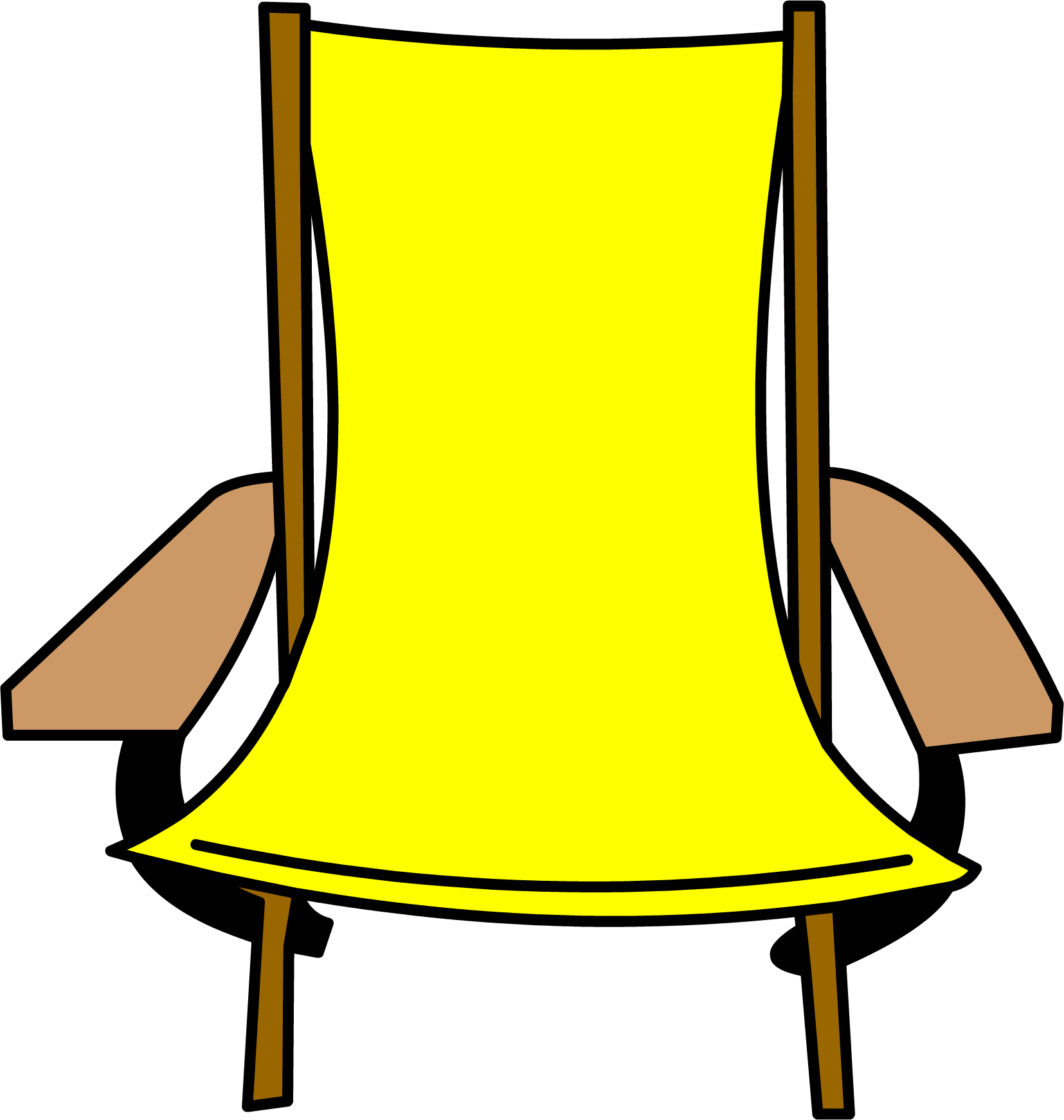 Chair clip folding. Image png club penguin