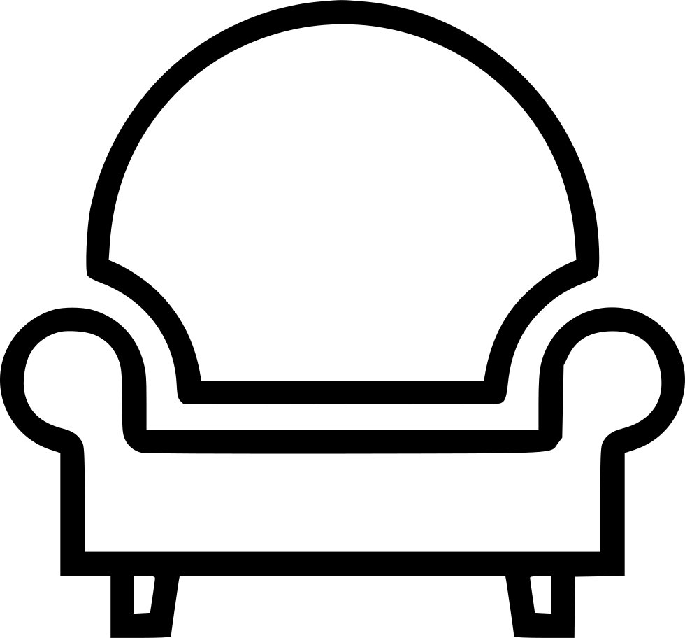 Chair clip leather. Home furniture svg png