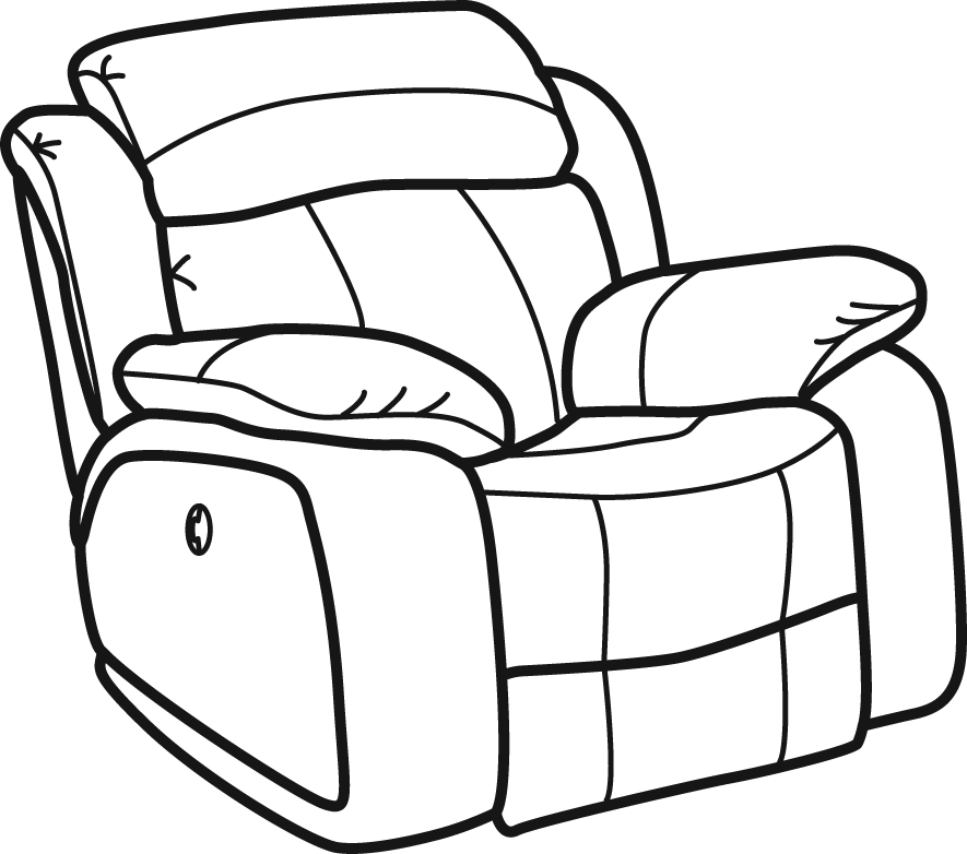 Chair Recliner Transparent Clipart Free Download