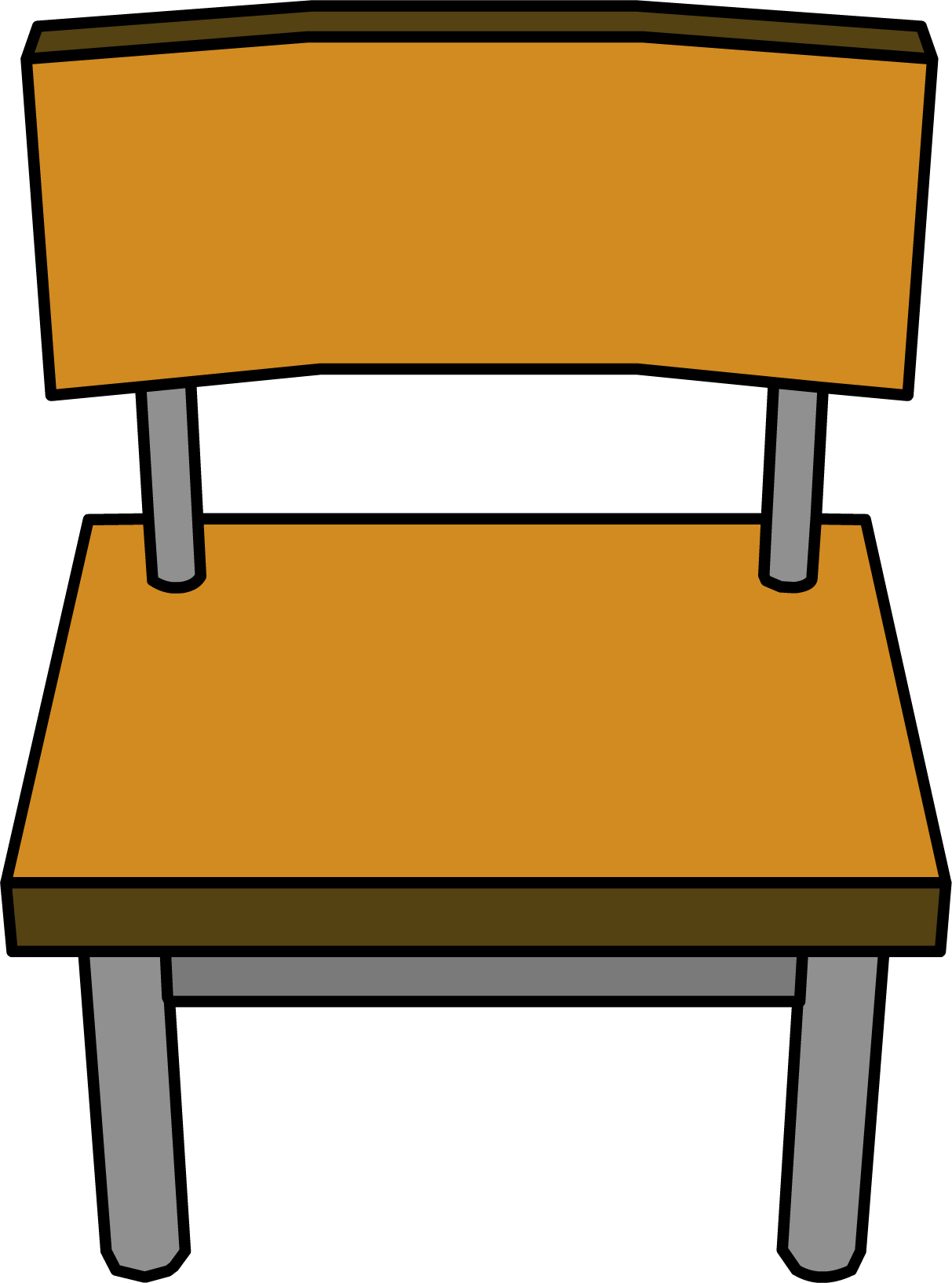Chair clip school. Picture library stock
