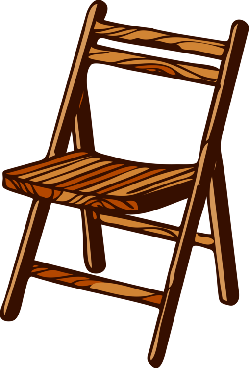 Bench clipart wooden bench. Folding chair furniture wood
