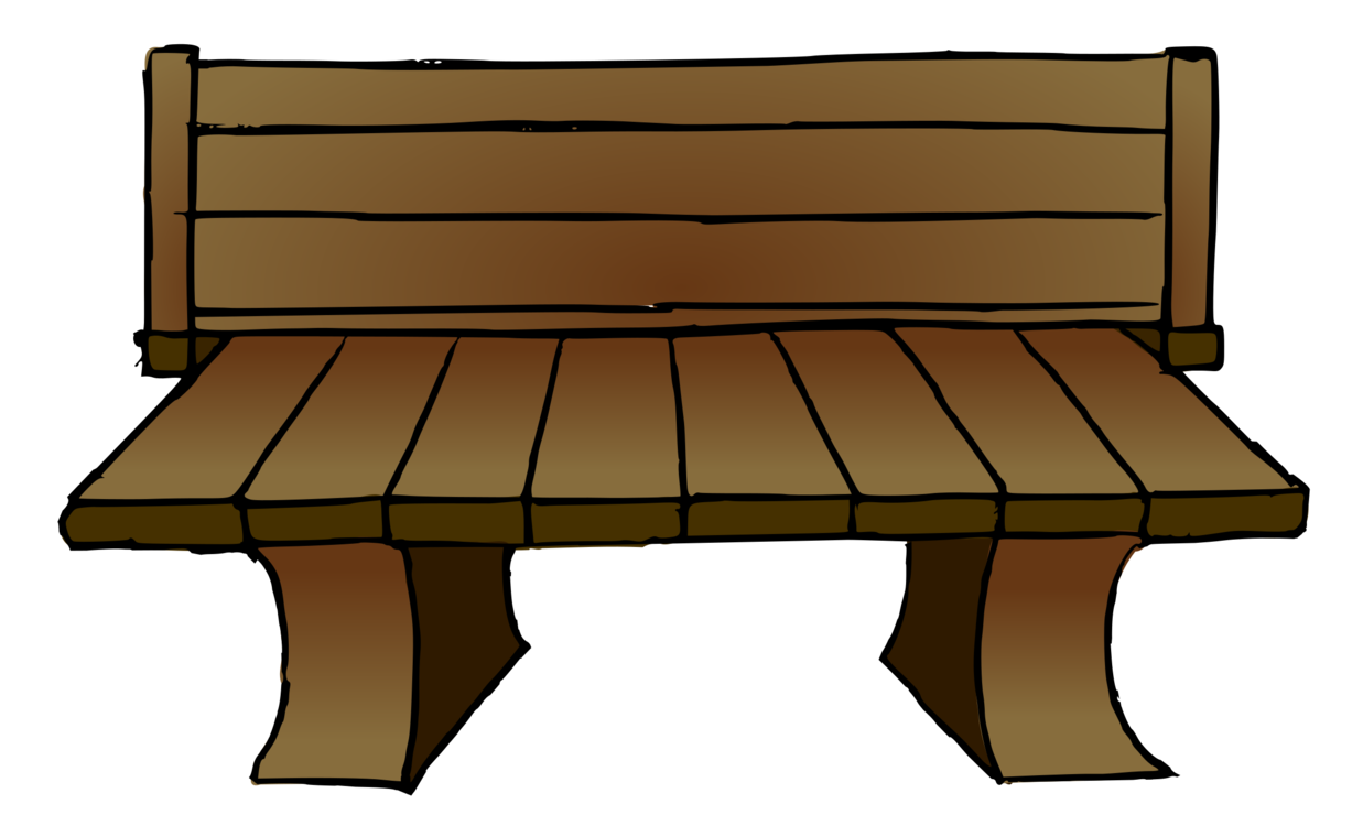 Bench clipart wooden bench. Chair furniture wood drawing
