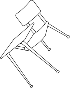 chair clipart broken chair