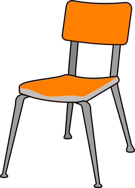 Chair clipart png. Student clip art at