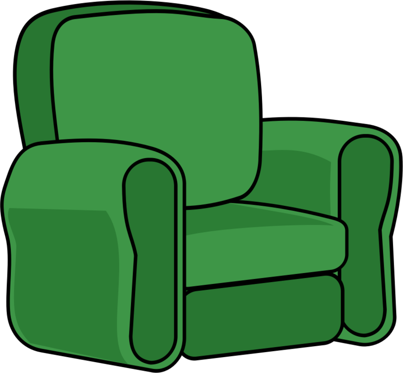 Chair clip recliner. Green line free commercial