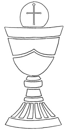 Chalice clipart chalis. First communion banner templates