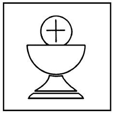 Chalice clipart first communion. Banner supplies ideas on