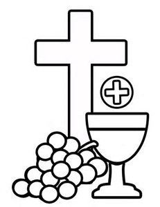 Chalice clipart sacrament eucharist. Free first holy communion