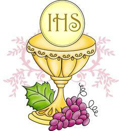 Chalice clipart sacrament eucharist. First communion and host