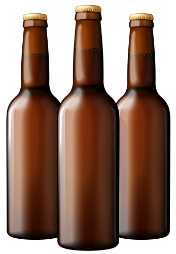 Bottle beer png. Brown bottles clipart art