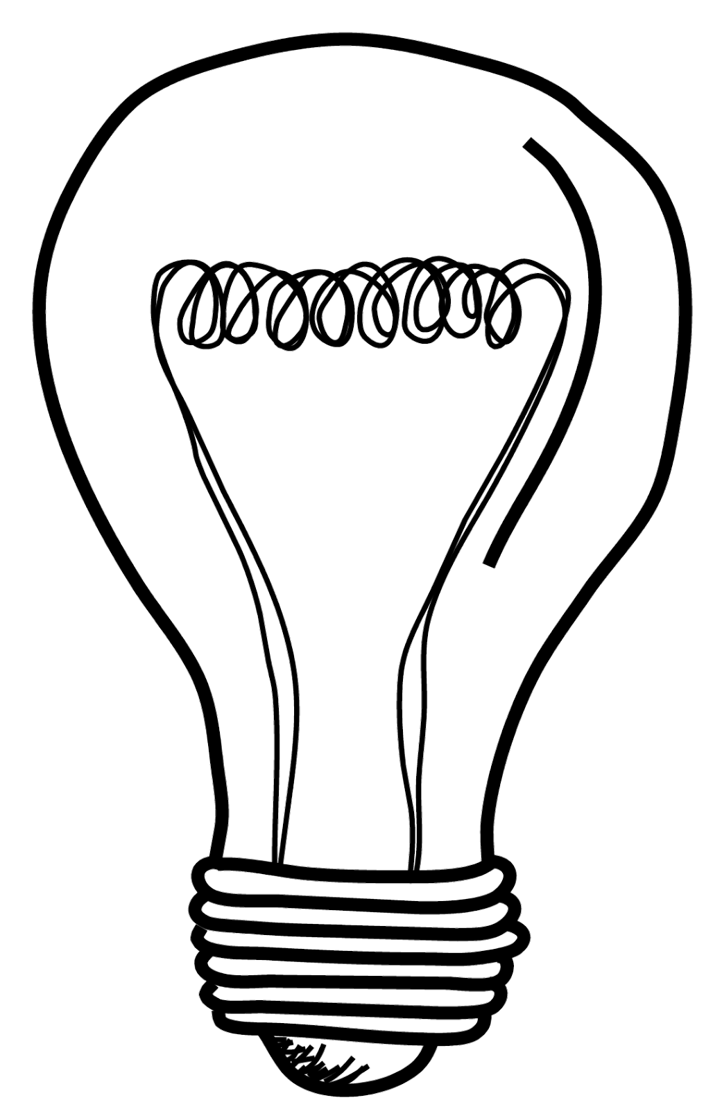 Success drawing light bulb. Png clipart best saul
