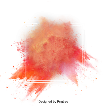 Explosion of color png. Powder images vectors and