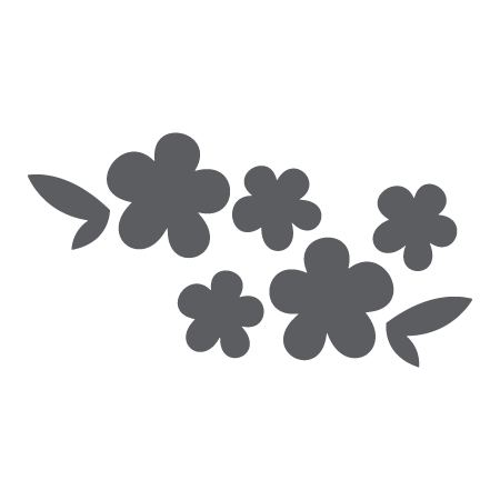 Chalk flower png. Chalkboard flowers wall quotes
