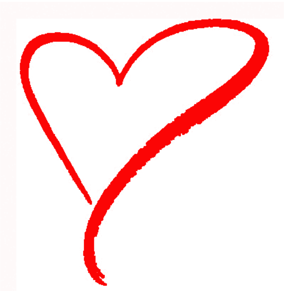 Chalk heart png. Showing affection an unsupported