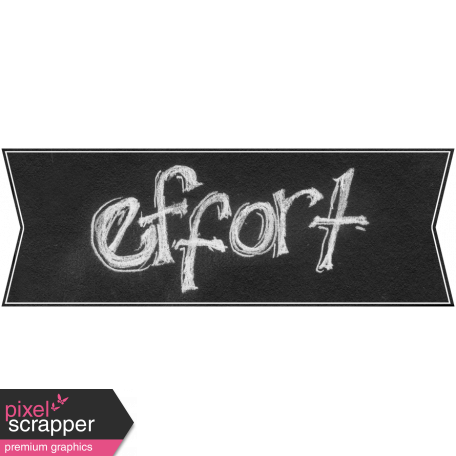Chalk label png. Sports word art banner
