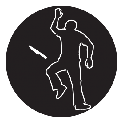 Chalk outline png. Gobo projected image