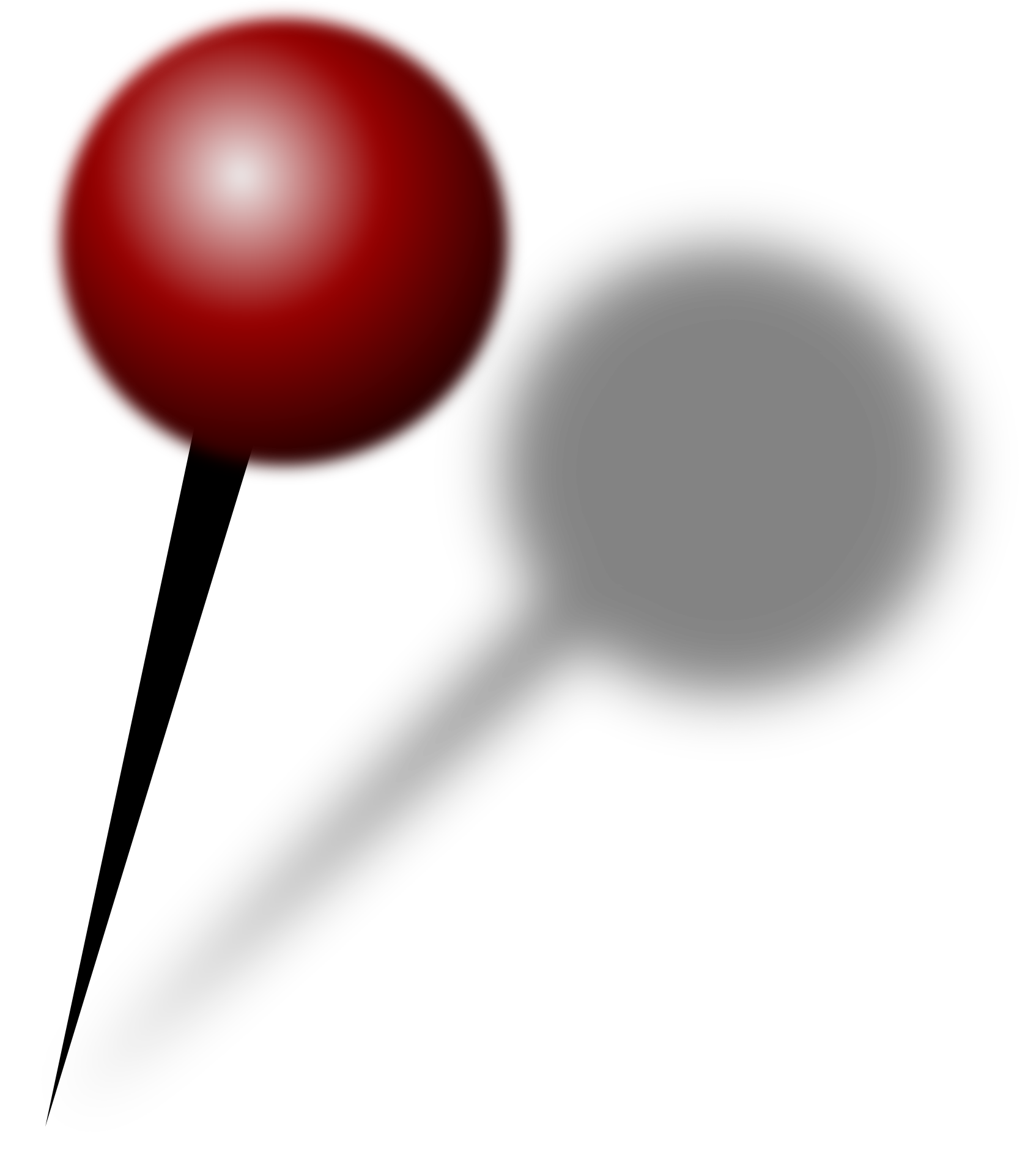 Chalk pushpin png. File red push pin