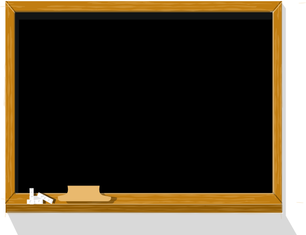 Chalkboard transparent. Clip art at clker