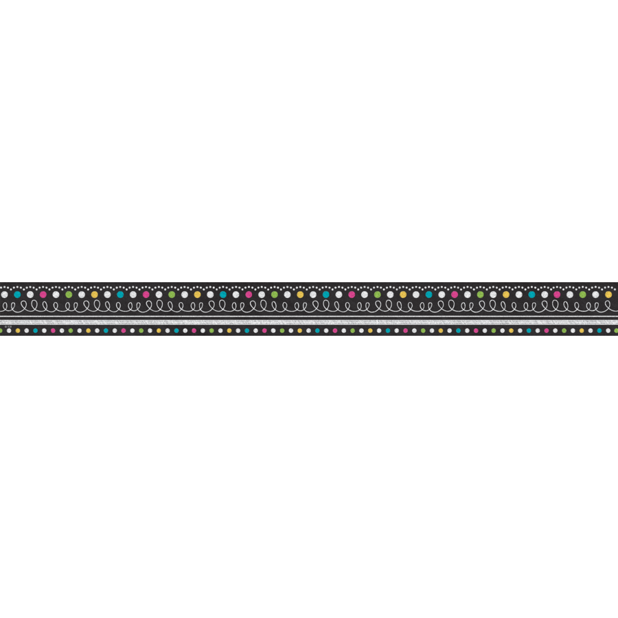 Chalkboard borders png. Brights clingy thingies cm