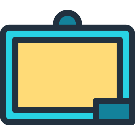 Chalkboard clip educational. Icon png svg