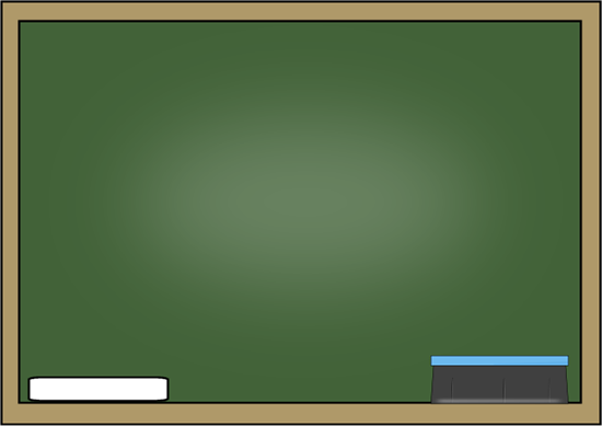 Chalkboard clipart. Clip art images with