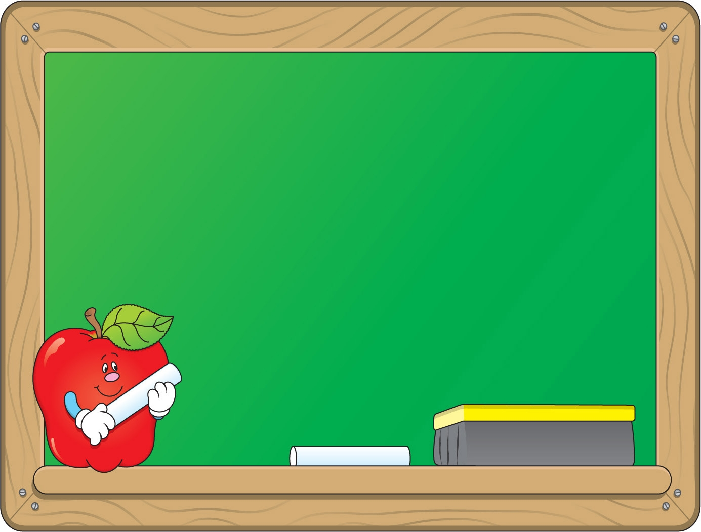 Chalkboard clipart. New design digital collection