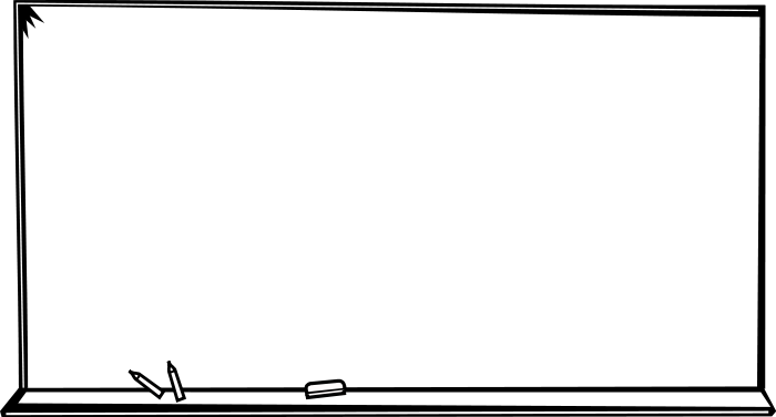 Blank chalkboard png. Clipart clip art library