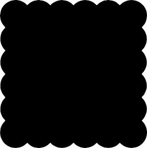 Edges vinyl for your. Chalkboard clipart scalloped banner royalty free library