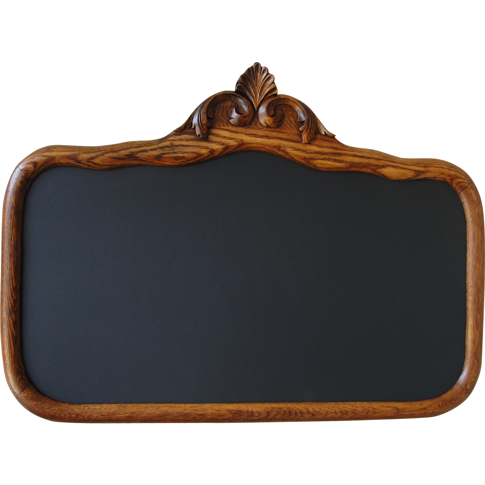 Chalkboard transparent old. Vintage oak frame sold