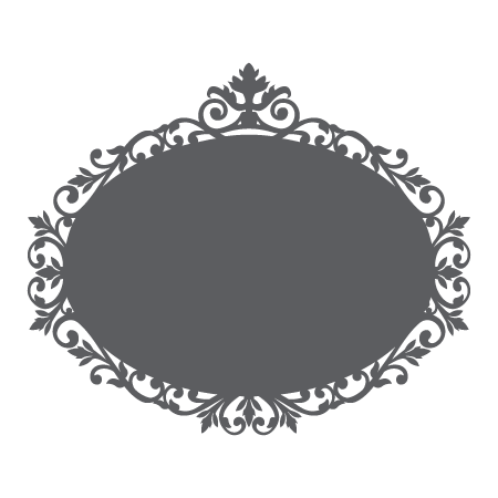 Chalkboard frame png. Mirror wall quotes art