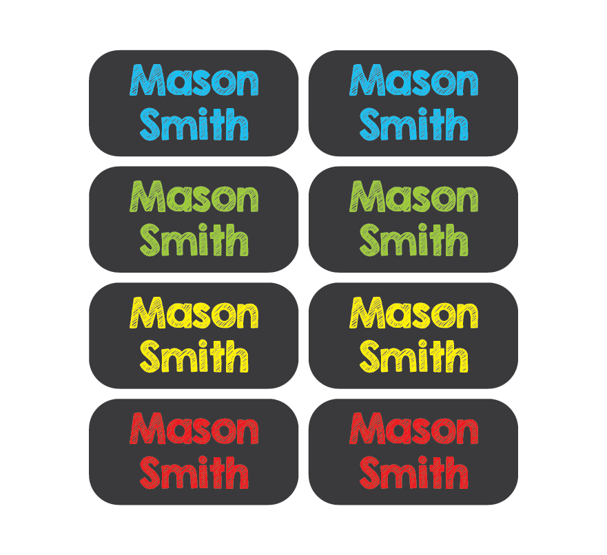 Chalkboard tag png. Clothing labels mey decals