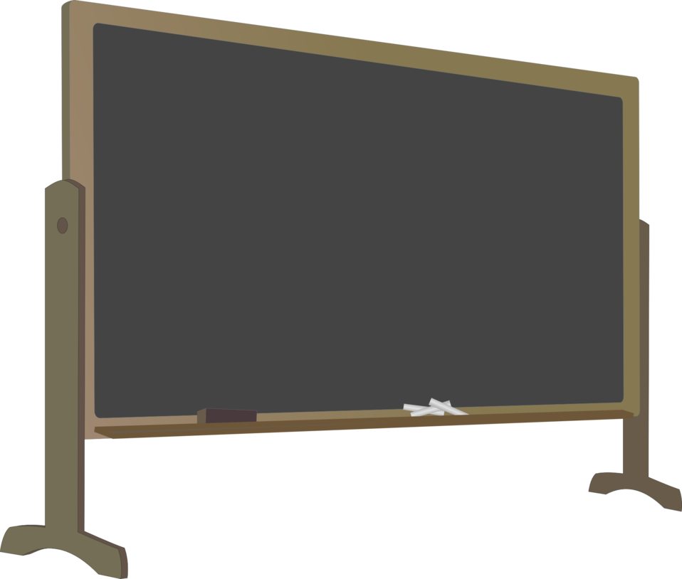 Chalkboard transparent. Public domain clip art