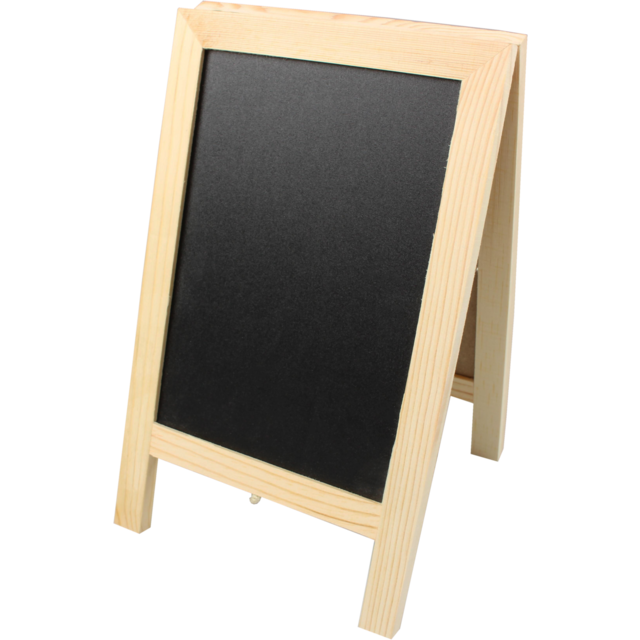 Chalkboard transparent wooden. Wood pavement sign x