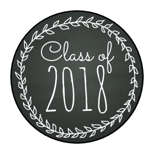 Chalkboard tag png. Graduation day labels download