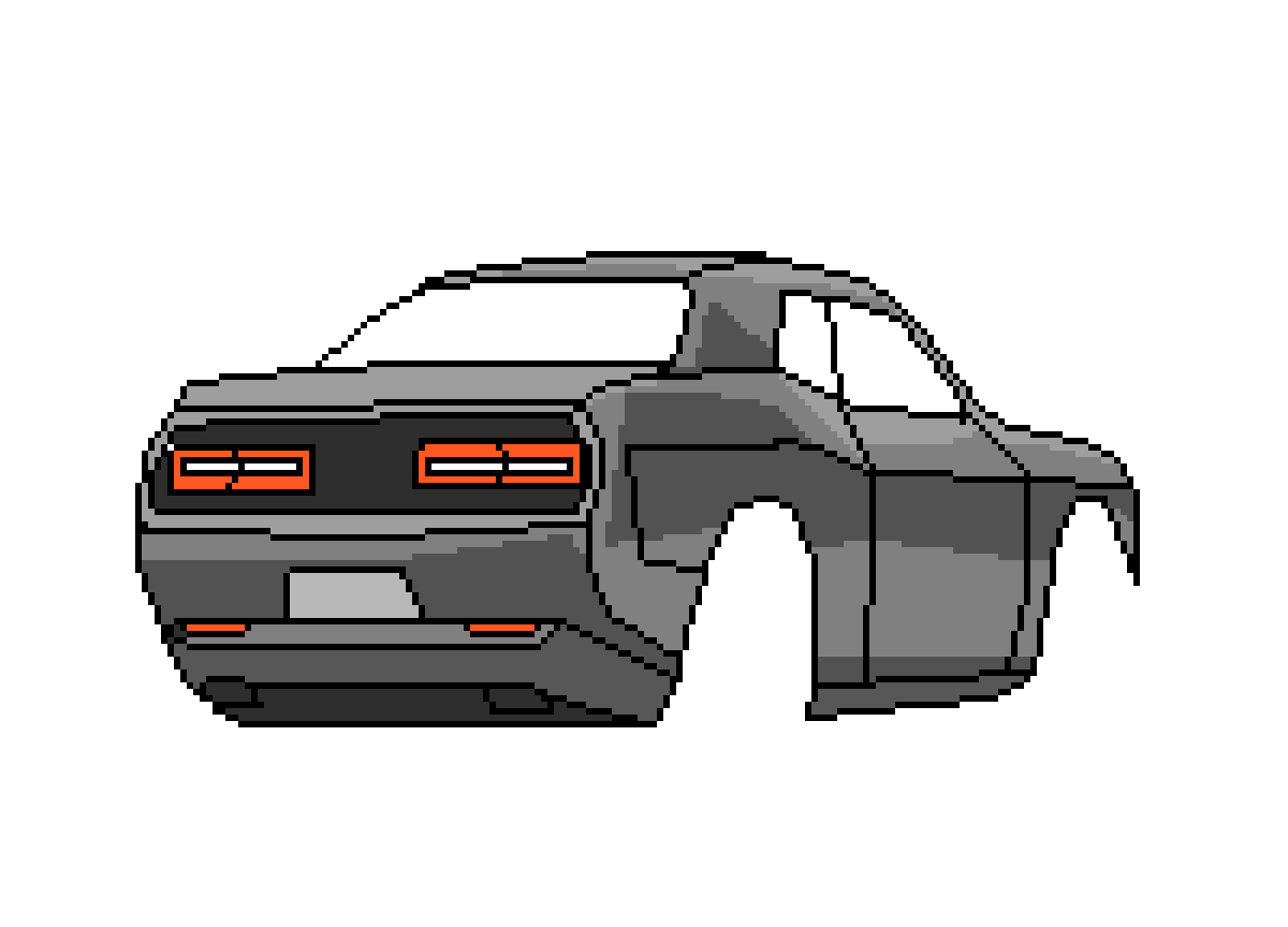 Challenger drawing dodge. Pixilart by tiny artist