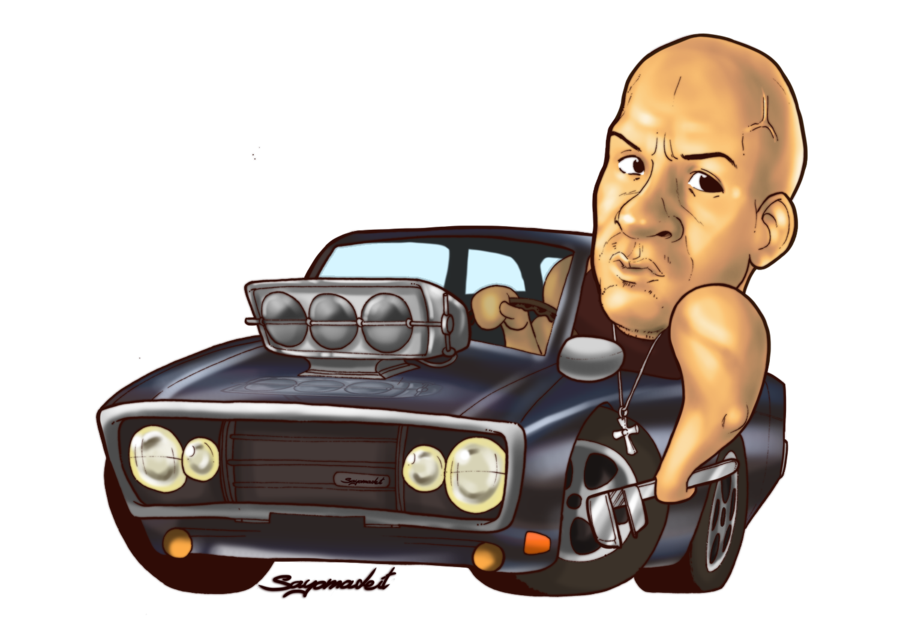 Challenger drawing dominic toretto. By sayomadeit on deviantart