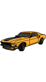 Firebird Drawing Fast And Furious 7 Car Transparent Png Clipart
