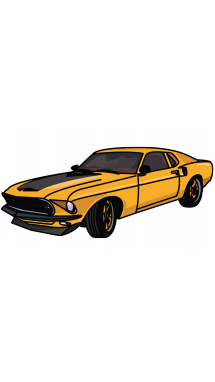 Drawing storyboard fast furious. Ford mustang finest gt